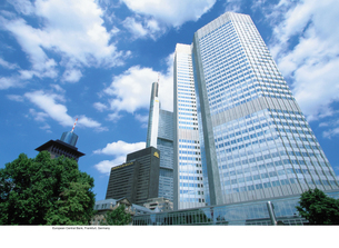 European Central Bankの写真素材 [FYI03460132]