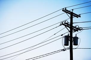Power linesの写真素材 [FYI03460300]