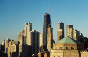 Chicago skyscrapersの写真素材 [FYI03460435]