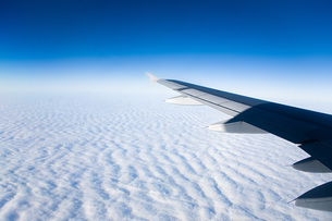 Airplane wingの写真素材 [FYI03460438]