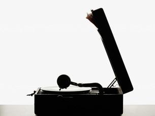 Vintage record playerの写真素材 [FYI03460453]