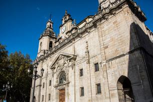 サンニコラス教会:ビルバオ旧市街の写真素材 [FYI03460851]