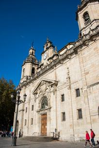 サンニコラス教会:ビルバオ旧市街の写真素材 [FYI03460858]