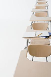 Empty classroomの写真素材 [FYI03461087]