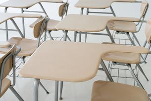 Empty classroomの写真素材 [FYI03461099]