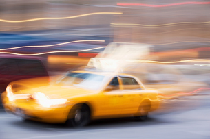 New york taxiの写真素材 [FYI03461149]