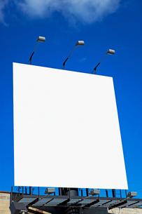 Blank billboardの写真素材 [FYI03461168]