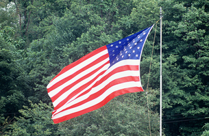 American flagの写真素材 [FYI03461240]