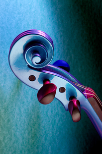 Violin scrollの写真素材 [FYI03461850]