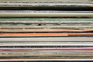 Record collectionの写真素材 [FYI03462165]