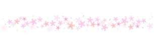 桜のライン素材のイラスト素材 [FYI03462318]