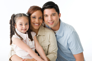 Family portraitの写真素材 [FYI03462319]