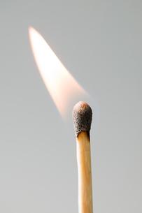 A burning matchの写真素材 [FYI03463122]