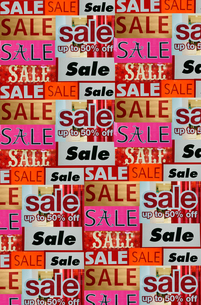 Sale signsの写真素材 [FYI03463601]