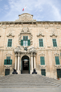 Facade of a buildingの写真素材 [FYI03463639]