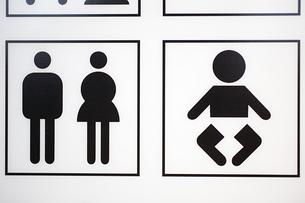 Toilet signの写真素材 [FYI03464007]