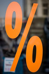 Percentage signの写真素材 [FYI03464011]