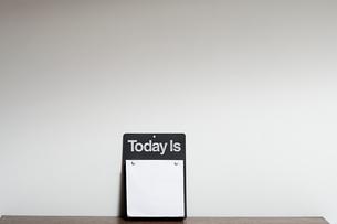 Blank calendarの写真素材 [FYI03464110]