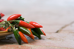 Chilli peppersの写真素材 [FYI03464144]