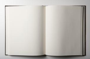 Blank bookの写真素材 [FYI03464248]