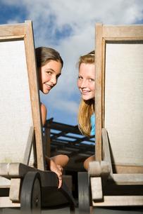 Portrait of teenage girlsの写真素材 [FYI03465279]
