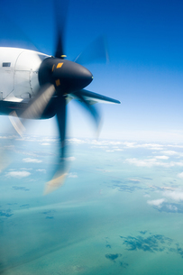 Airplane propellerの写真素材 [FYI03465535]