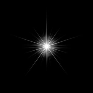 黒バックの光素材のイラスト素材 [FYI03465636]