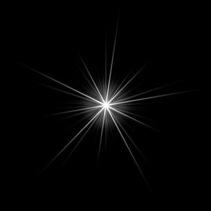 黒バックの光素材のイラスト素材 [FYI03465651]