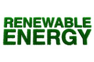 Renewable energy signのイラスト素材 [FYI03465694]