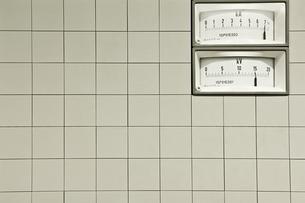 Electricity metersの写真素材 [FYI03466402]
