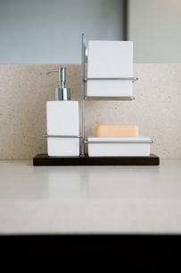 Bathroom accessoriesの写真素材 [FYI03467012]
