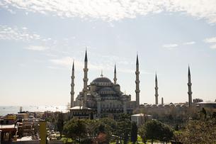 Blue mosque istanbulの写真素材 [FYI03467181]