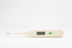 A digital thermometerの写真素材 [FYI03467373]