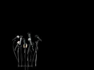 Microphonesの写真素材 [FYI03467532]