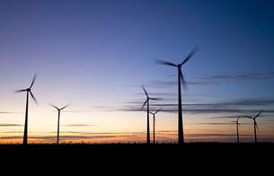 Wind farmの写真素材 [FYI03467627]