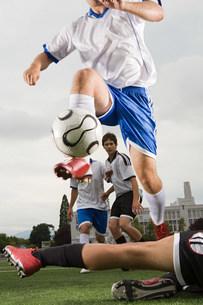 Football matchの写真素材 [FYI03468294]