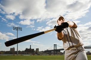 Baseball batterの写真素材 [FYI03470075]