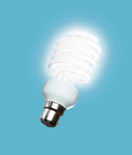 Energy saving lightbulbの写真素材 [FYI03470144]