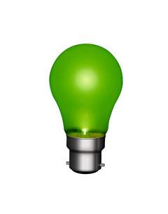 Green lightbulbのイラスト素材 [FYI03470173]