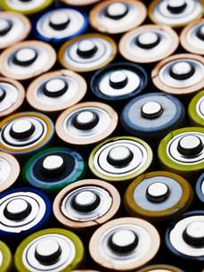 Lots of batteriesの写真素材 [FYI03470183]