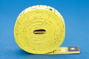 Coiled tape measureの写真素材 [FYI03470296]