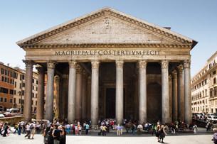 Pantheon romeの写真素材 [FYI03470416]