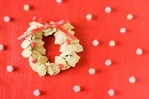 Biscuit wreathの写真素材 [FYI03470794]
