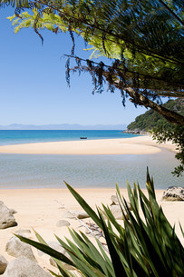 Tranquil and secluded beachの写真素材 [FYI03471242]