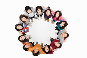Circle of peopleの写真素材 [FYI03471763]