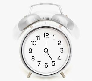 Alarm clock ringingのイラスト素材 [FYI03471866]
