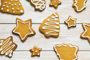 Christmas cookiesの写真素材 [FYI03472149]
