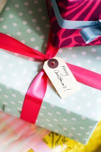 Christmas giftsの写真素材 [FYI03472150]