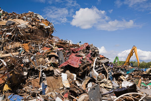 Waste pileの写真素材 [FYI03473233]