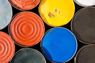 Oil drumsの写真素材 [FYI03473244]